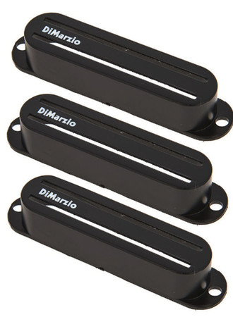 Dimarzio - Dimarzio DM2002BK Fast Track™ Pickup Cover Black