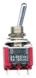 Dimarzio - DiMarzio EP1107 DPDT Mini Toggle Switch