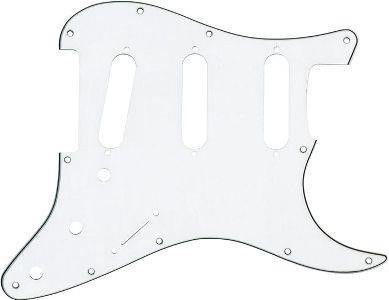 Dimarzio FG2108W Beyaz Strat Pickguard