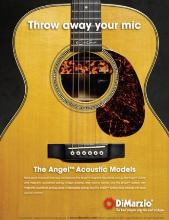 DiMarzio DP231 Akustik Gitar Ses Deliği Manyetiği - Thumbnail