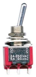 DiMarzio EP1107 DPDT Mini Toggle Switch