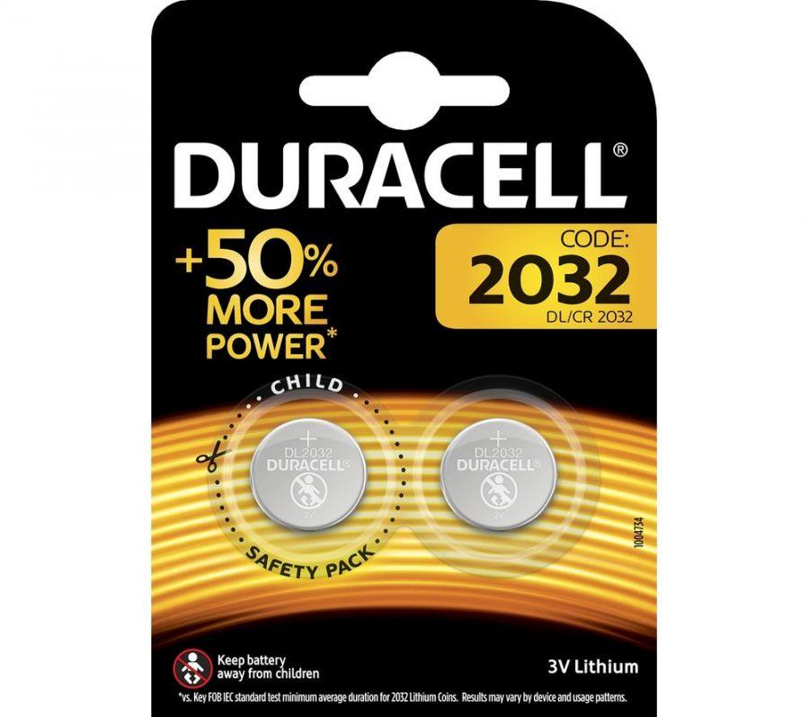 Duracell 3 Volt Lithium 2032 Akort Aleti Pili