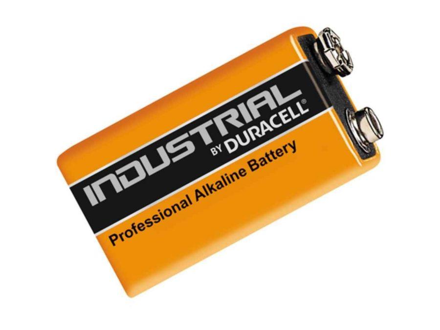 Duracell 9 Volt Endüstriyel Pil