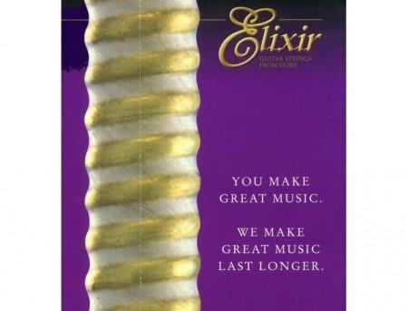 Elixir Nanoweb 12052 Light Elektro Gitar Teli (10-46) - Thumbnail