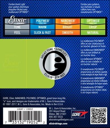 Elixir 19002 Optiweb Elektro Gitar Teli (09-42) - Thumbnail