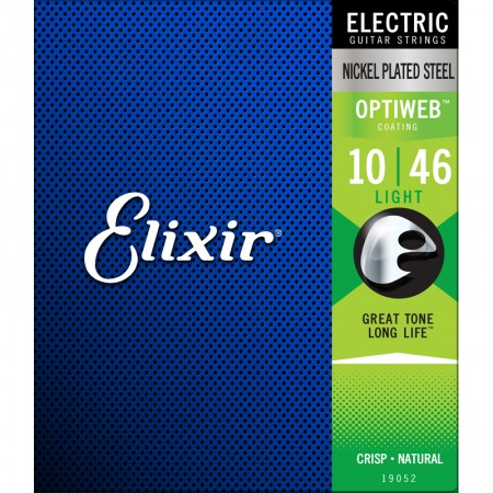 Elixir - Elixir Optiweb Light Elektro Gitar Teli (10-46)-19052