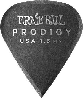 Ernie Ball - Ernie Ball 9335 / 1.5MM Black Sharp Prodigy Gitar Penası 6'lı Paket