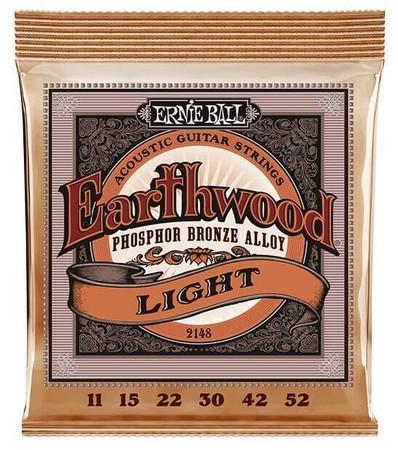 Ernie Ball - Ernie Ball 2148 Super Slinky Phosphor Bronze 11-52 Akustik Gitar Teli