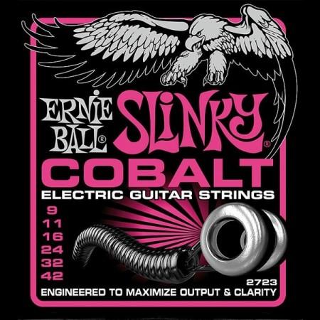 Ernie Ball - Ernie Ball 2723 Cobalt Elektro Gitar Teli (9-42)