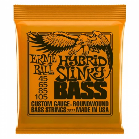 Ernie Ball 2833 Hybrid Slinky Bass Nickel Wound Takım Tel