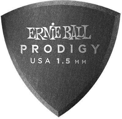 Ernie Ball - Ernie Ball 9331 1.5MM Black Reuleax Prodigy Gitar Penası 6'lı Paket