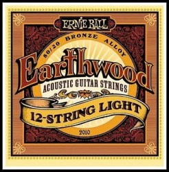 Ernie Ball Bronze 2010 (12 Telli) Akustik Gitar Teli