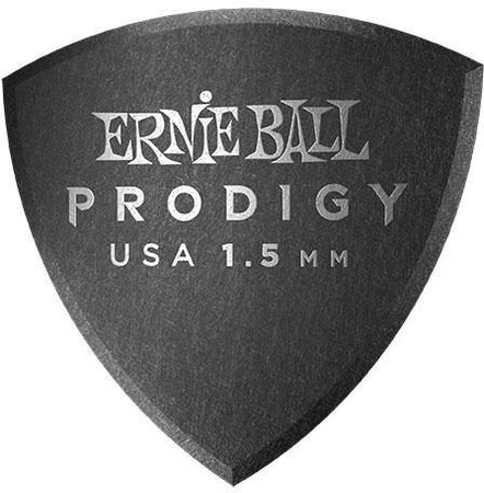 Ernie Ball - Ernie Ball P09332 / 1.5MM Black Reuleax Large Gitar Penası 6'lı Paket