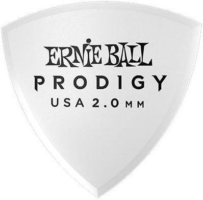 Ernie Ball - Ernie Ball P09337 / 2.0MM White Reuleax Prodigy Gitar Penası 6'lı Paket