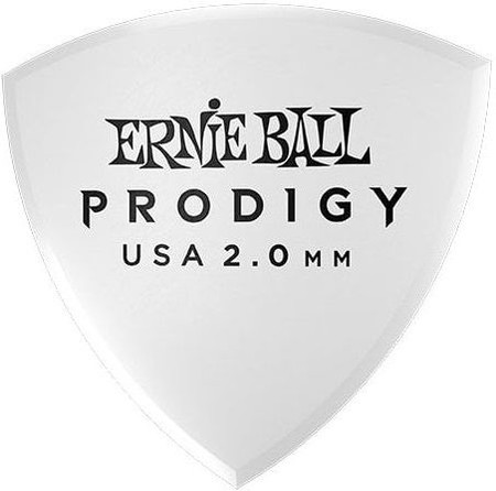 Ernie Ball - Ernie Ball P09338 / 2.0MM White Reuleax Large Gitar Penası 6'lı Paket