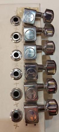 2.EL Fender American Standard Strat/Tele Krom Burgu - Thumbnail