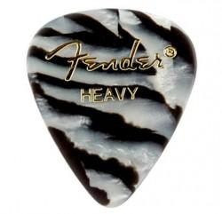 Fender - Fender 351 Heavy Zebra 12'li Pena Seti