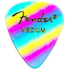 Fender 351 Medium Rainbow 12'li Pena Seti