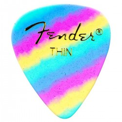 Fender - Fender 351 Thin Rainbow 12'li Pena Seti