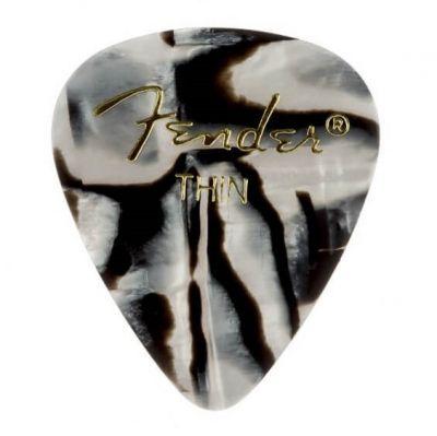 Fender 351 Thin Zebra 12'li Pena Seti