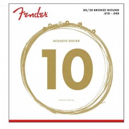 Fender - Fender 70XL Bronze Akustik Gitar Tel Takımı (.010-.048)