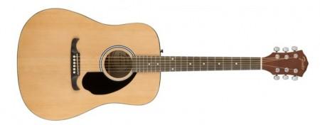 Fender - Fender FA-125 NAT-Naturel Akustik Gitar