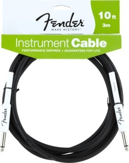Fender - Fender 10' Performance Series Instrument Cable