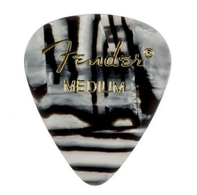 Fender 351 Medium Zebra 12'li Pena Seti
