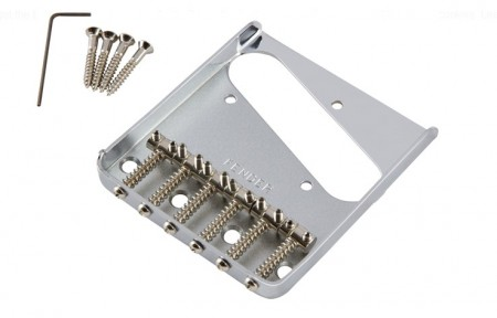 Fender 6-Saddle Vintage Telecaster Bridge Assy - Thumbnail