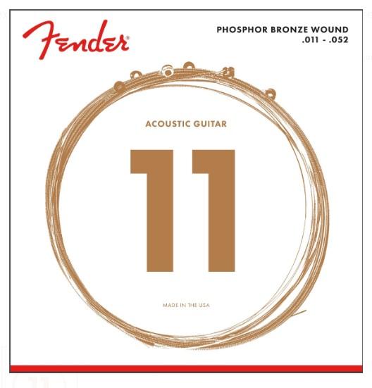 Fender 60CL Phosphor Bronze Akustik Gitar Tel Takımı (.011-.052)