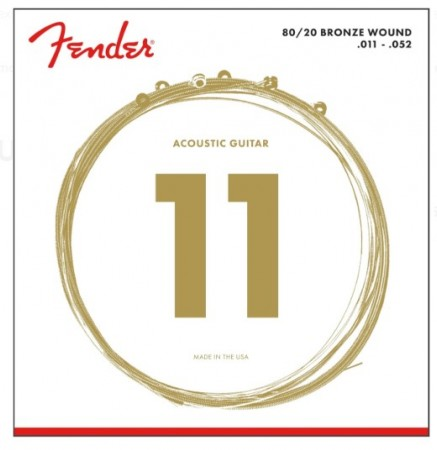 Fender - Fender 70CL Bronze Akustik Gitar Tel Takımı (.011-.052)