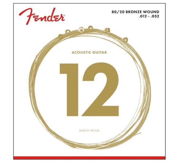 Fender 70L Bronze Akustik Tel Takımı (12-52)