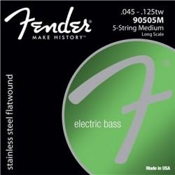 Fender - Fender 9050 S.Steel Flatwound 9050 5-M 45-125