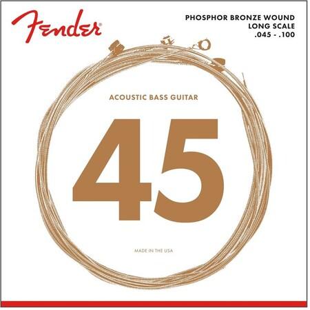 Fender - Fender Akustik Bas Gitar Teli 8060 45-100