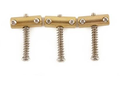 Fender - Fender American Vintage Telecaster® Compensated Bridge Saddles (3)