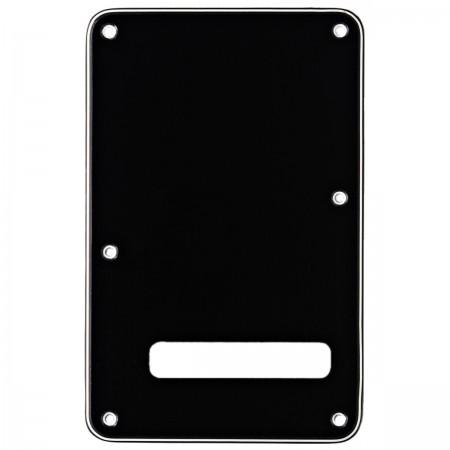 Fender Backplate Strat Siyah Arka Kapak