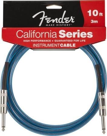 Fender - Fender California Series Lake Placid Blue 3 Metre Enstrüman Kablosu
