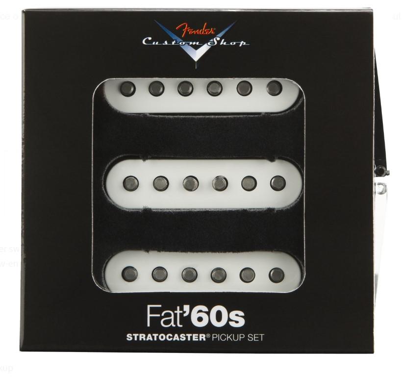 Fender Custom Shop Fat '60s Stratocaster® Pıckups