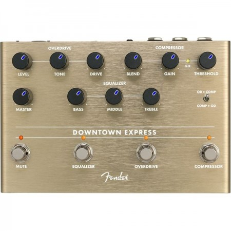 Fender - Fender Downtown Express Bass Multi-Effect Pedal