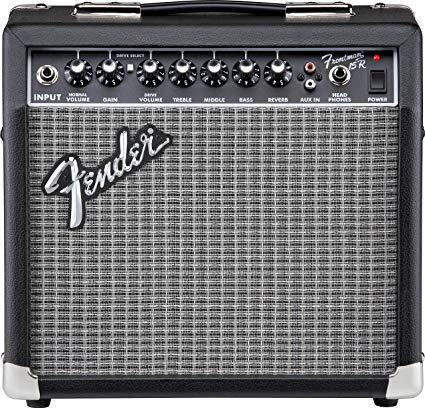 Fender - Fender Frontman 15G Black Elektro Gitar Amfisi