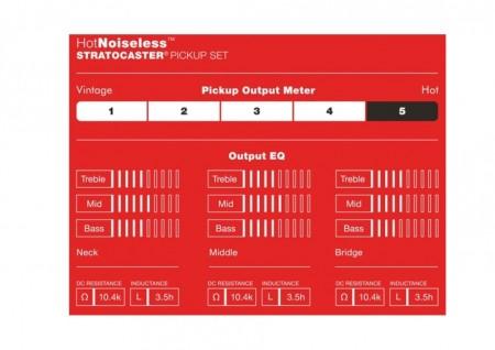 Fender Hot Noıseless™ Strat® Pıckups - Thumbnail