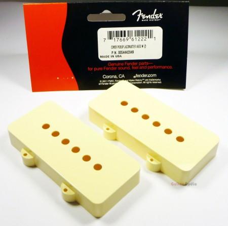 Fender - Fender JazzMaster Pickup Cover Aged White