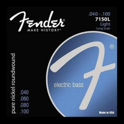 Fender - Fender Original 7150 Pure Nickel 7150L 40-100