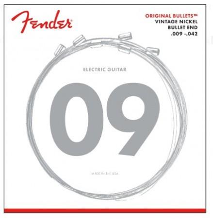 Fender - Fender Original Bullets 3150L Pure Nickel (9-42) Elektro Gitar Takım Tel