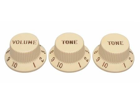 Fender - Fender Strat Vintage 1 Volüme/2 Tone Plastik Knob