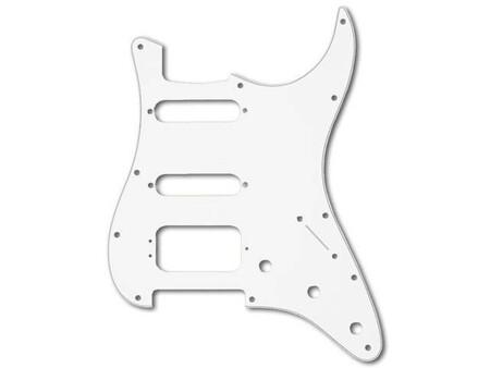 Fender Standard Serisi Fat Strat W/B/W HSS Pickguard