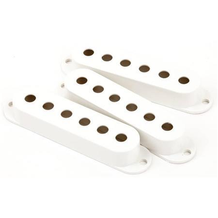 Fender - Fender Stratocaster Pickup Covers White