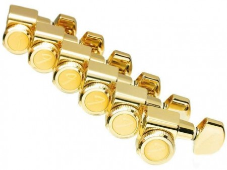 Fender - Fender Stratocaster-Telecaster Kilitli Gold Burgu