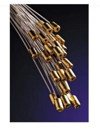 Fender Super 250's Nickel Plated Steel Bullets End 250M (11-.49) Elektro Gitar Takım Tel - Thumbnail
