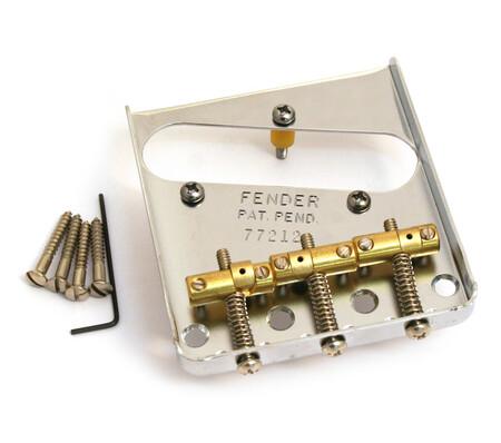 Fender Tele Bridge Assembly 3-Saddle USA Vintage